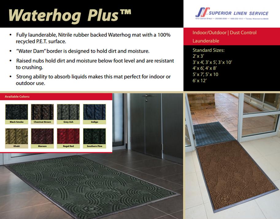 Floor Mats: Waterhog Plus