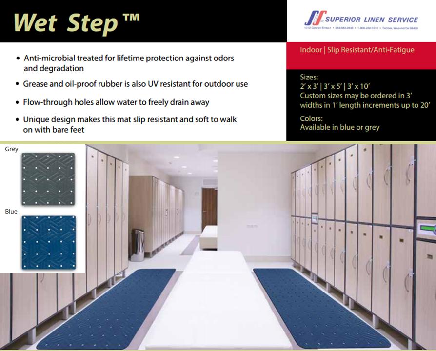 Floor Mats: Wet Step