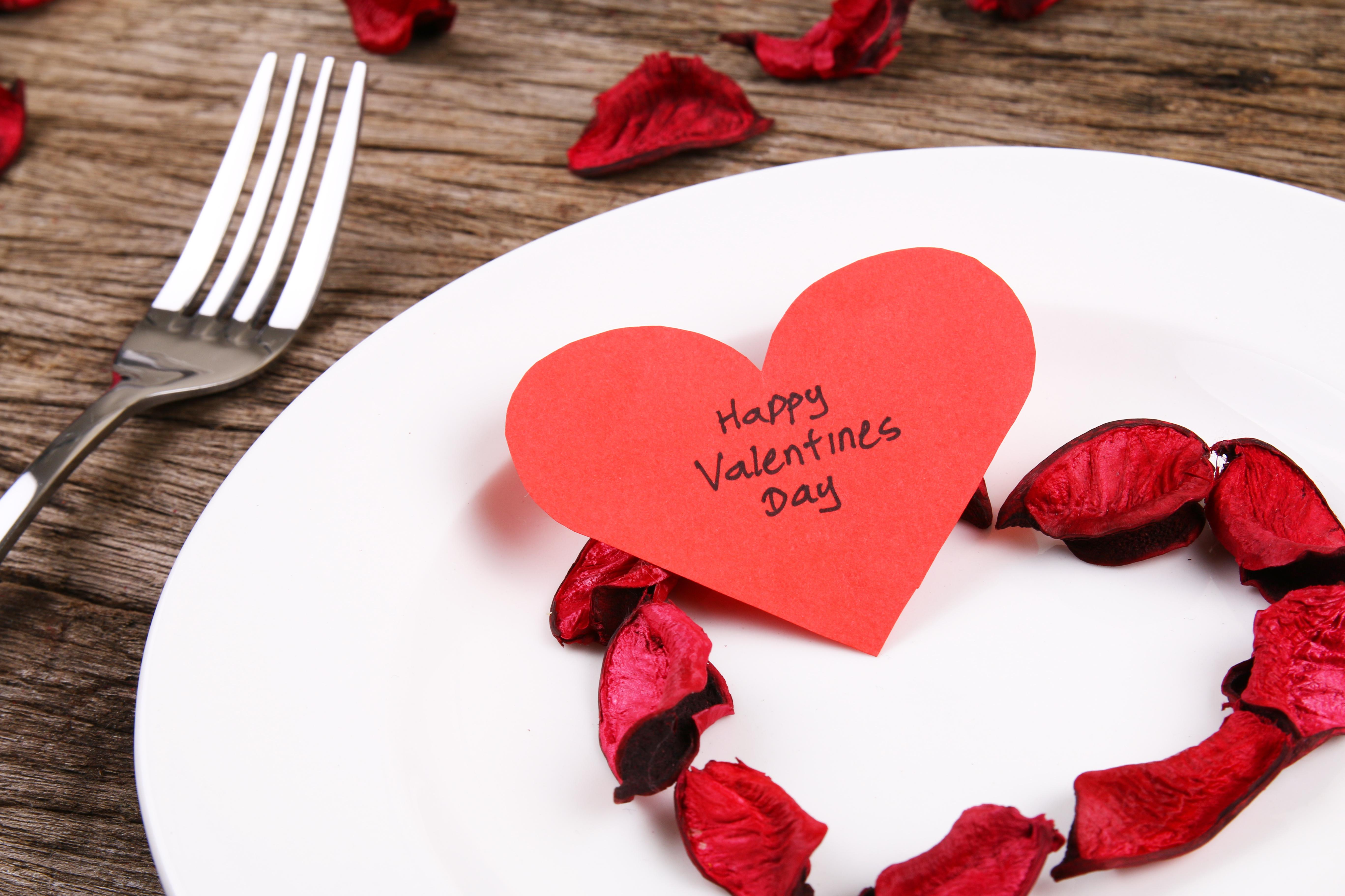 Valentine's Day Restaurant Preparations