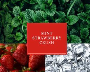 Mint Strawberry Crush - Festive Holiday Drinks