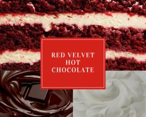 Red Velvet Hot Chocolate Festive Holiday Drinks