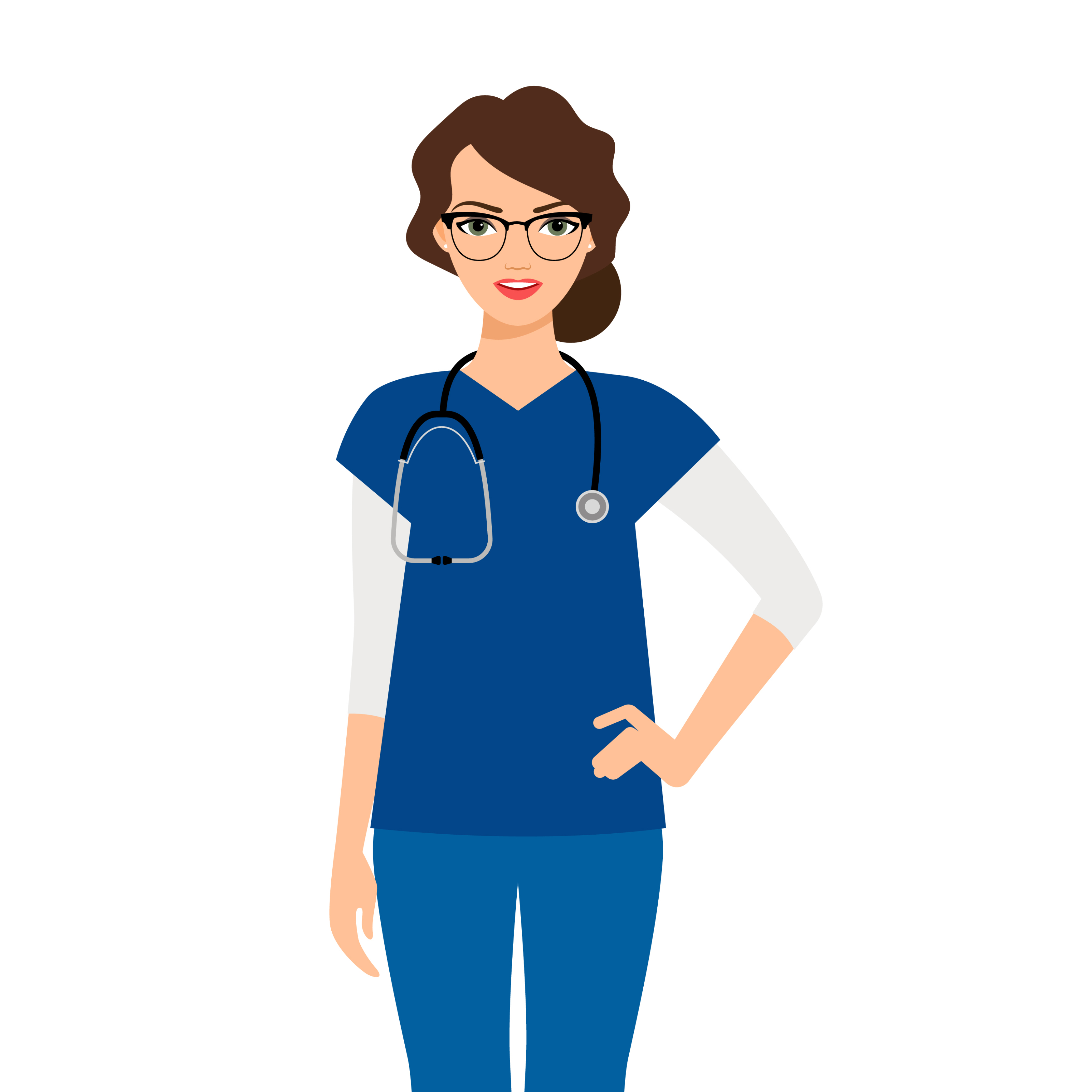 the benefits of wearing scrubs