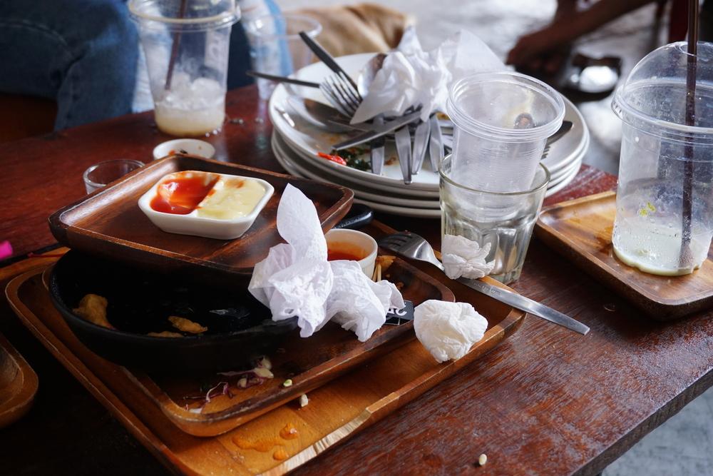 germs in restaurants